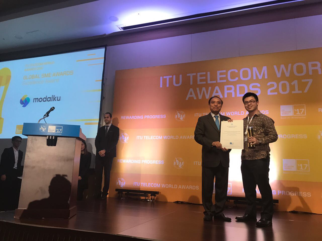 Funding Societies (Modalku) Wins Global SME Excellence Award from United Nations' ITU Telecom Unit